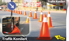 trafik konileri